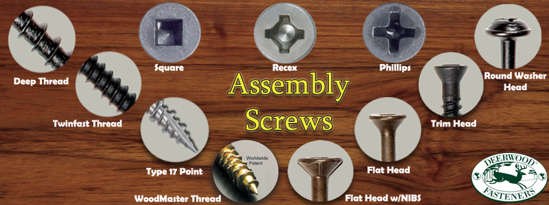 Woodworking Assembly Screws